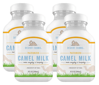 desert farms camel milk 4 bottles