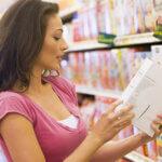 Woman Shopping for Non GMO Food