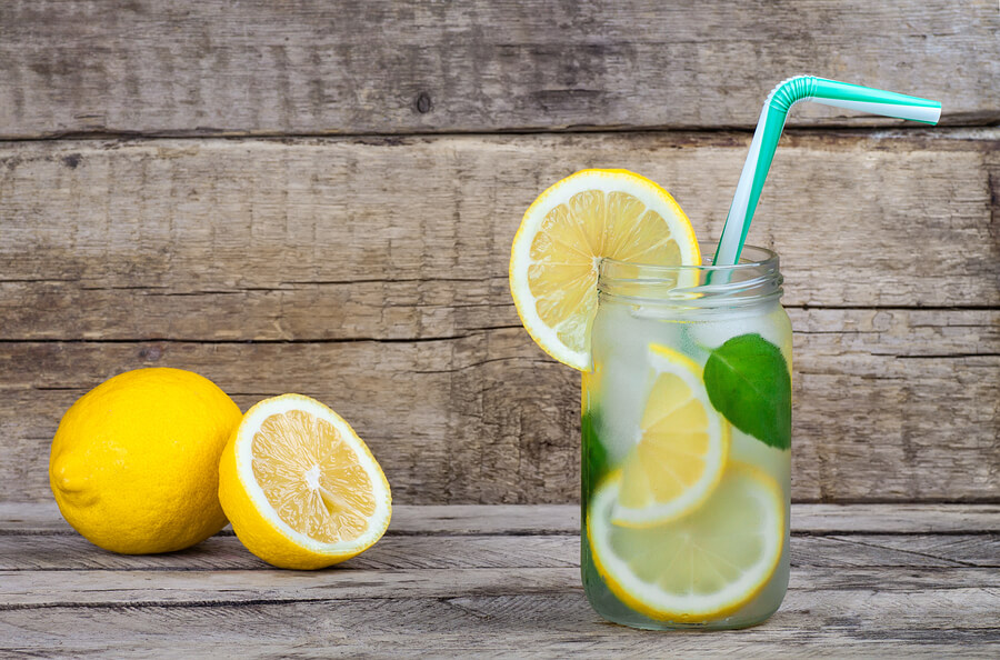 lemon-water-mint