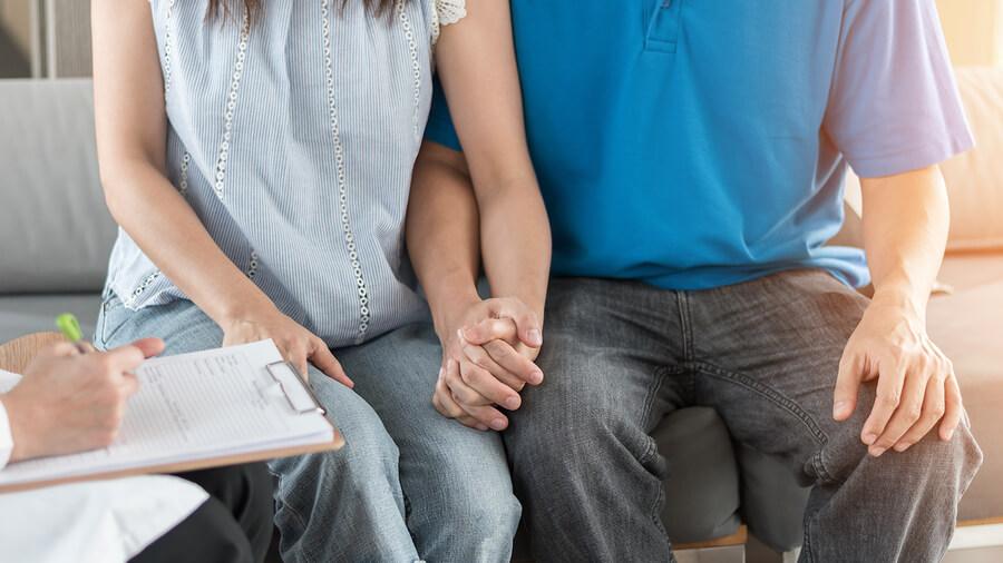 Infertility doctor couple