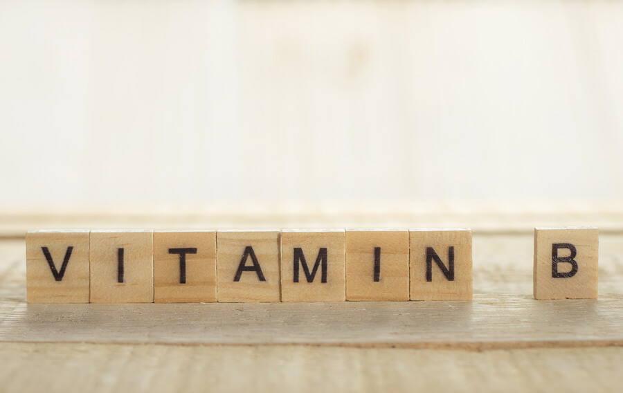 Vitamin B in the body