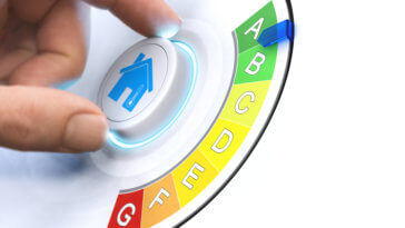 Save energy house dial improve